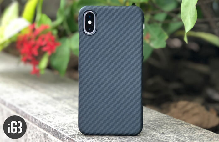 Pitaka MagCase for iPhone X