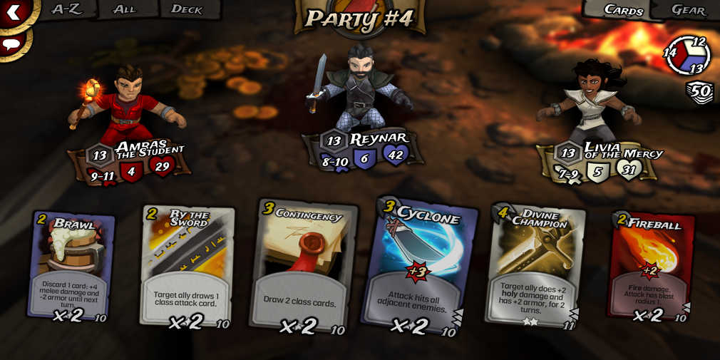 Traitors Empire Card RPG is a turn-based card battler RPG and it