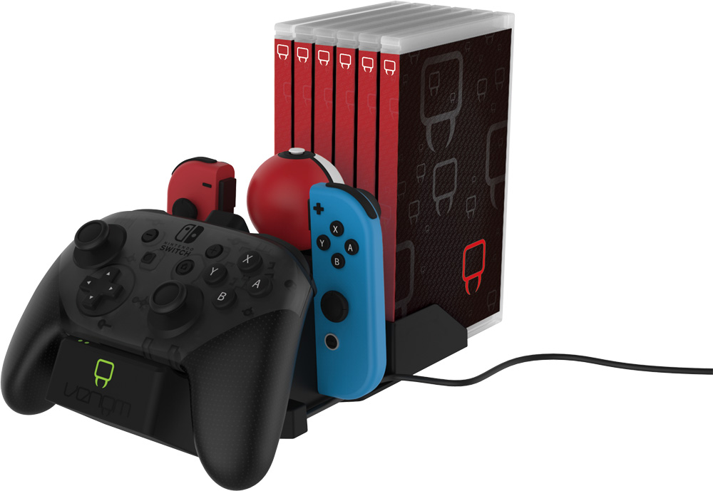 Venom Charge & Store Switch hardware review -
