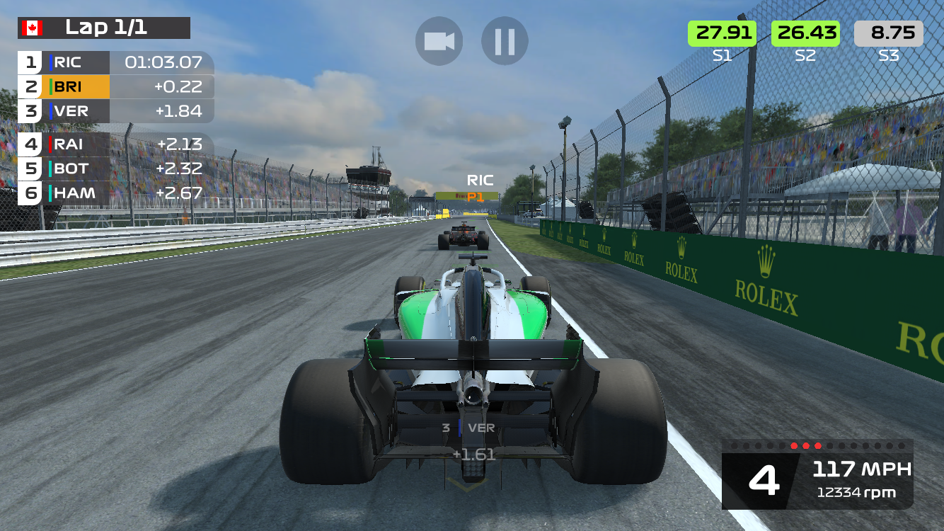 F1 Mobile Racing review -