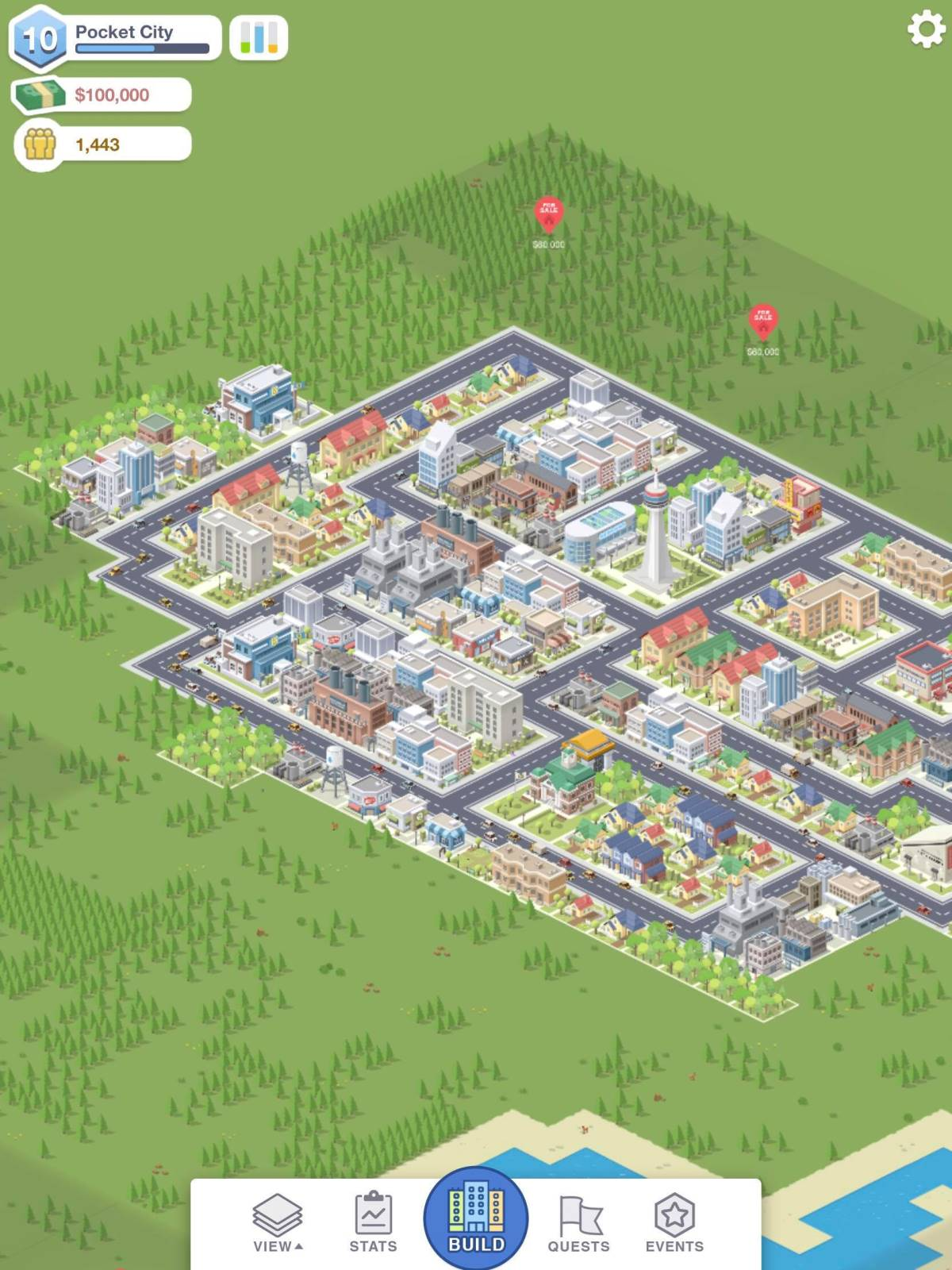 Pocket City review - An addictive city builder without the wait time