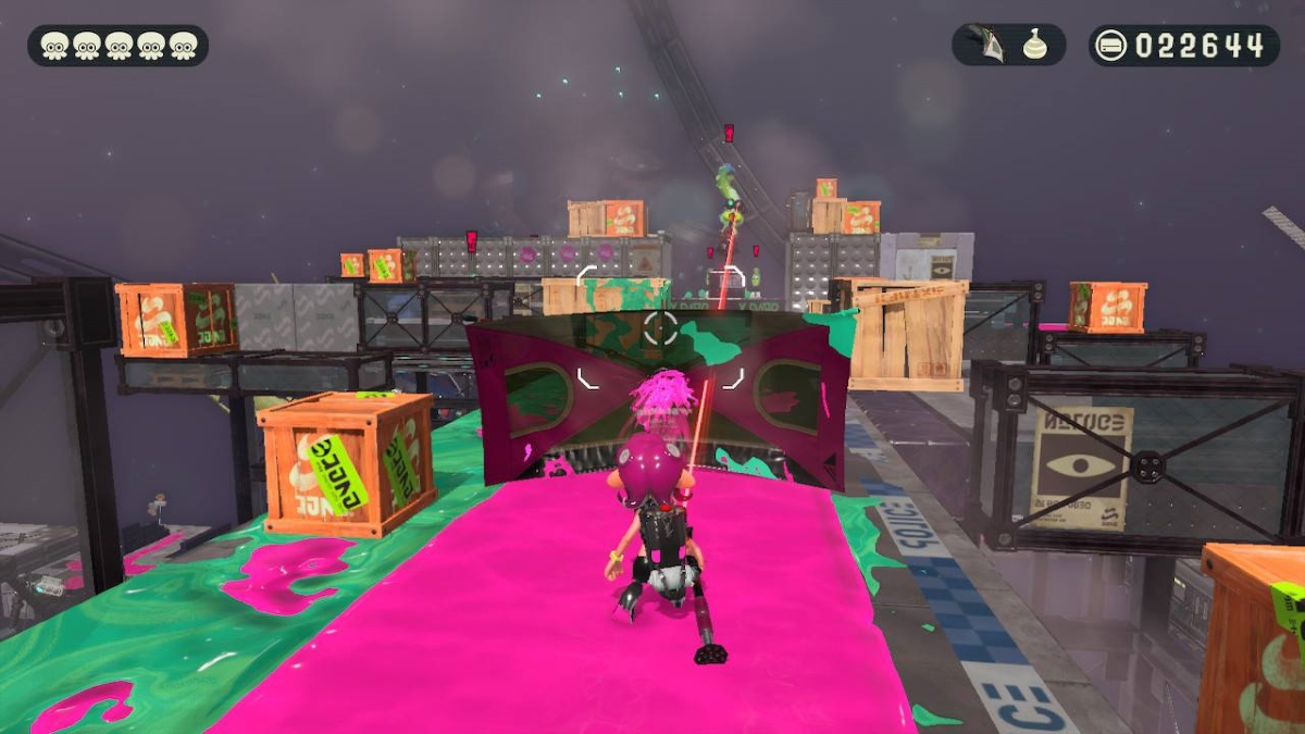 Splatoon 2 Octo Expansion Paraply Shield