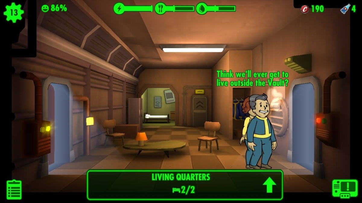 Fallout Shelter Switch review - The same base builder you