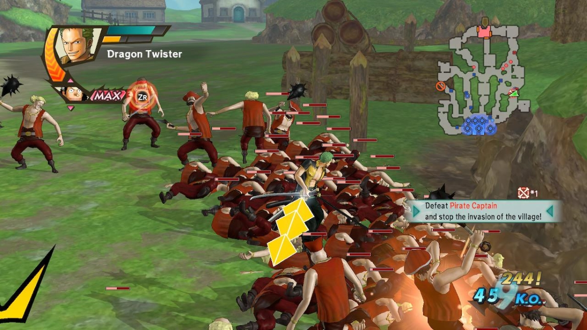 One Piece: Pirate Warriors 3 Deluxe Edition Switch review - A welcoming, absurdly fun anime brawler