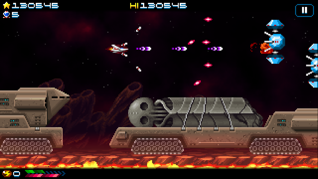 Super Hydorah review - An old-school shooter with a few tricks up its ruffled sleeves