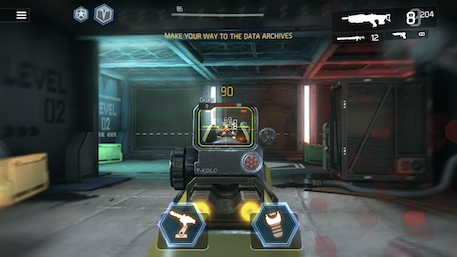 Shadowgun Legends iOS-skärmdump 2