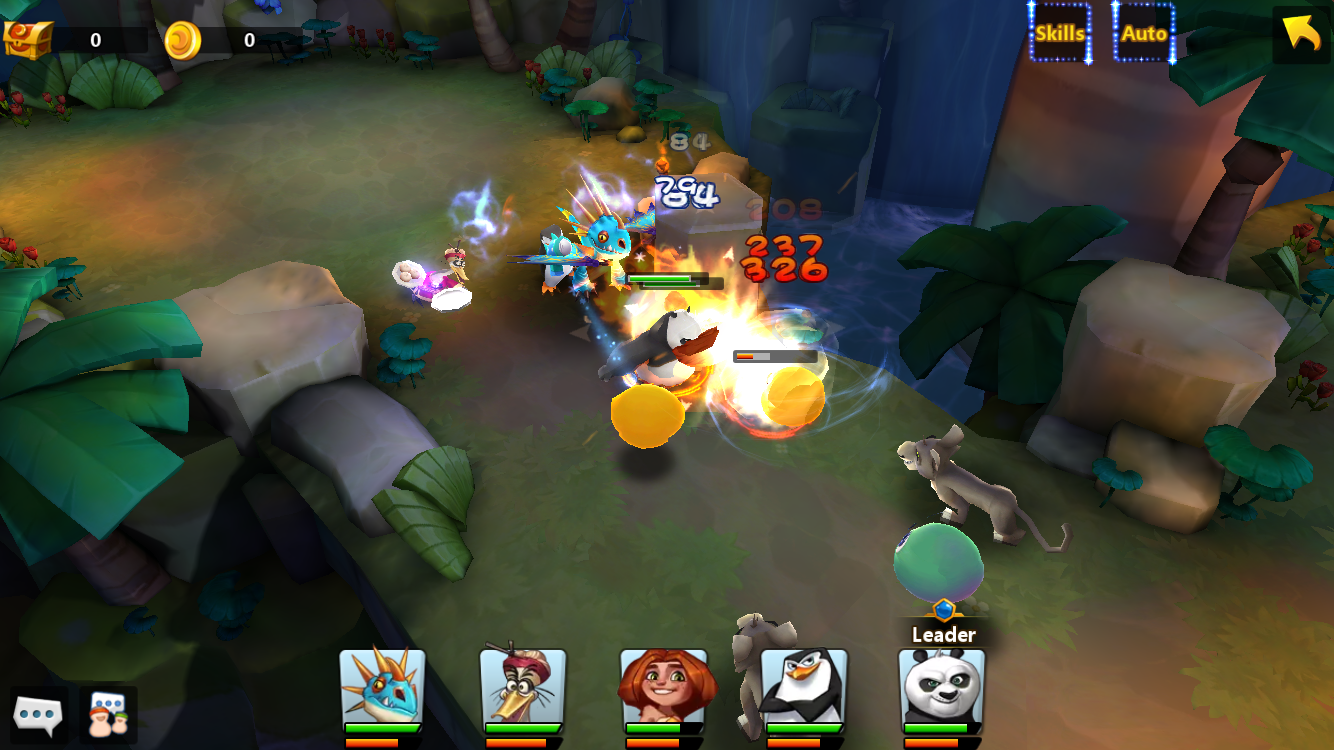 Dreamworks: Universe of Legends review - A casual RPG with all of your favourite Dreamworks animated characters