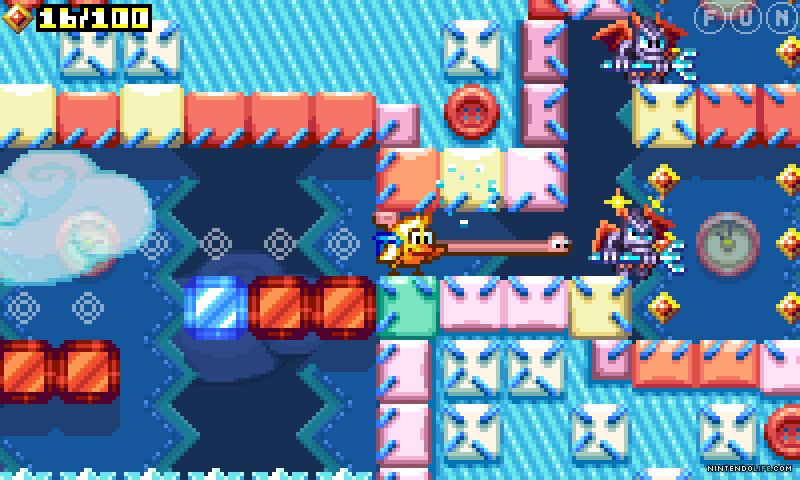 Chicken Wiggle review - A generic 2D platformer with a notable DIY spirit