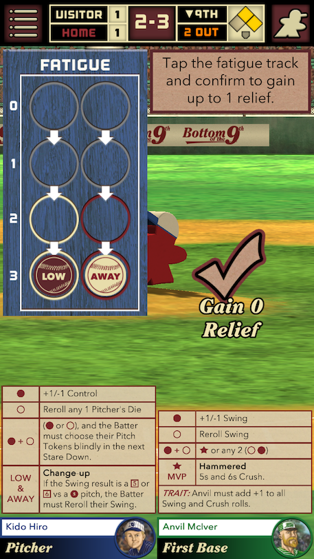 Bottom of the 9th review - Baseball and dice collide in a beautiful board game