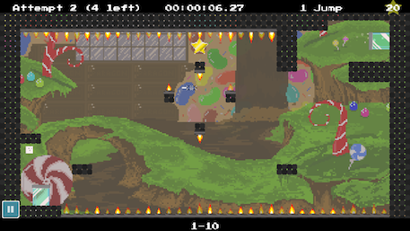 Project MALLOW review - Angry Birds getting in a fight with a Super Meat Boy