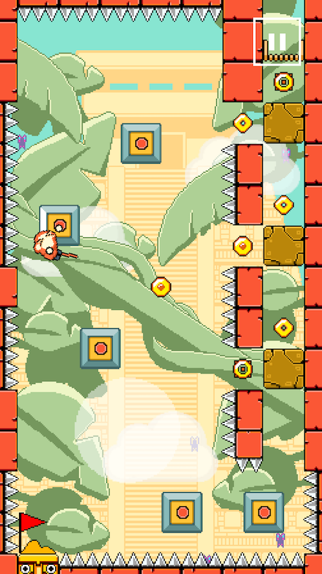 Swing King and The Temple of Bling review - A one-touch arcade blast that