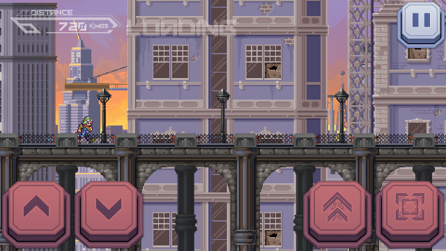 Run or Die review - A hard endless runner which never pretends to be anything else