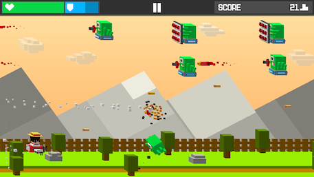 Tappy Sky review - A simple shooter with a screen-poking twist