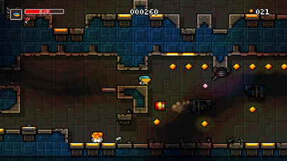 Sci-fi Spelunky-like Meganoid leaps onto iOS and Android