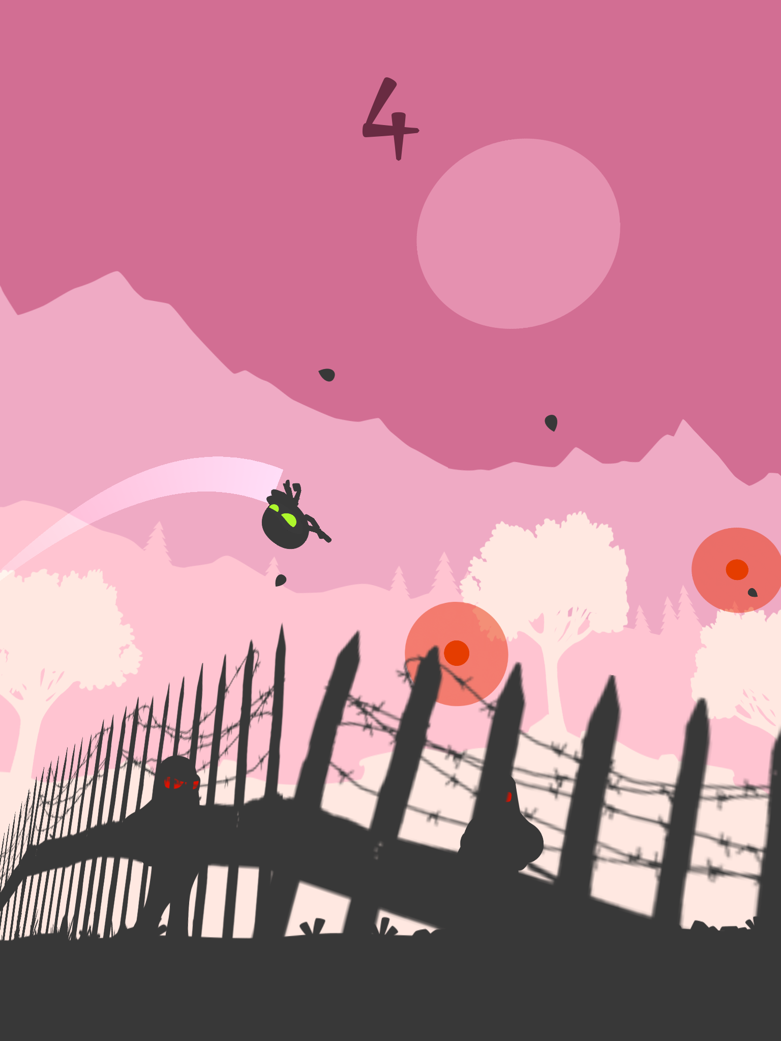 Breakout Ninja review - A one-touch runner with a style of its own