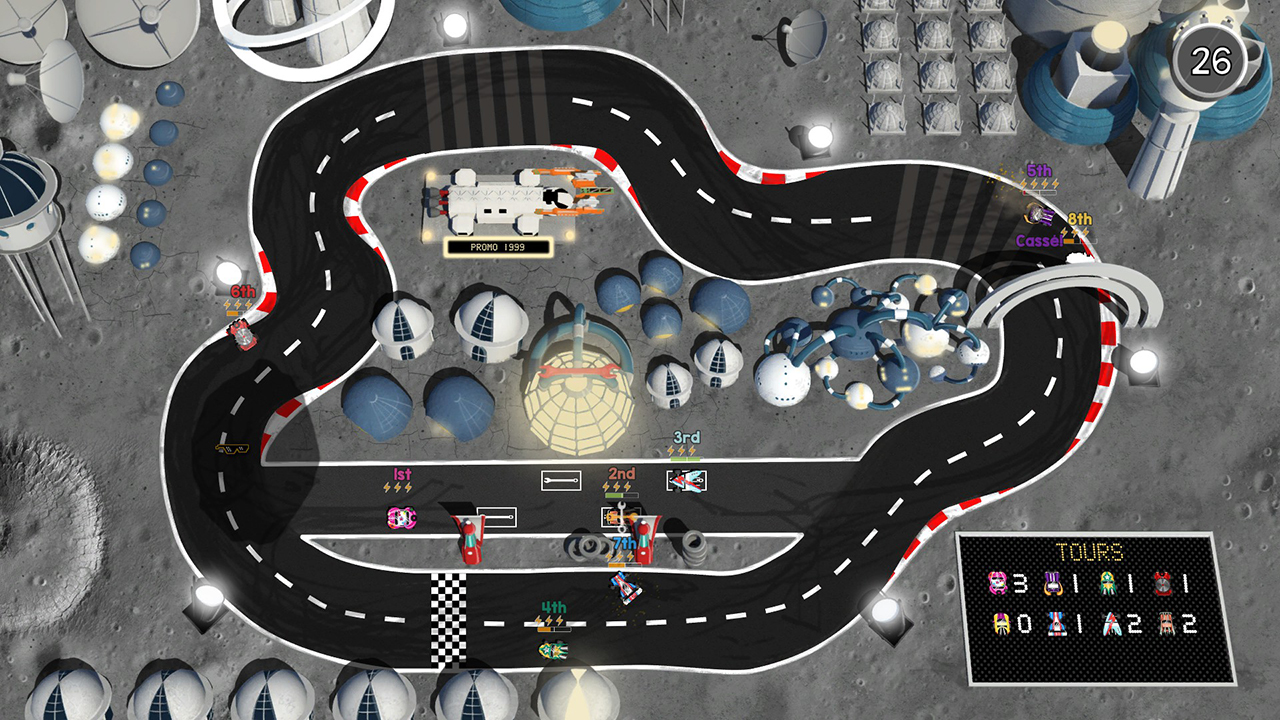 BAFL: Brakes are for Losers Switch review - But is the game for losers?
