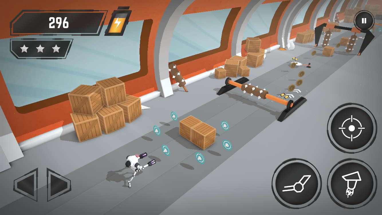 Crashbots review - An auto-runner with a few tricks up its sleeve