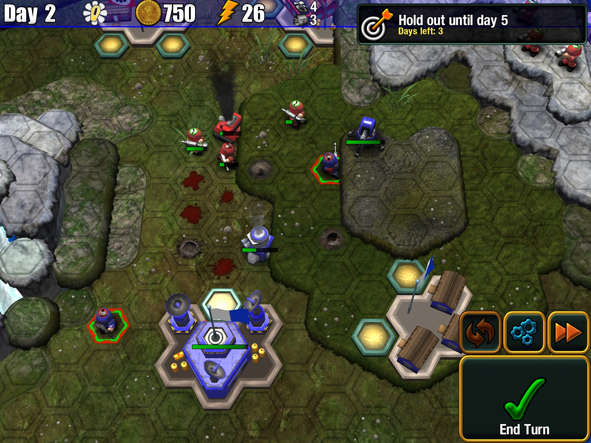 Epic Little War Game review - A turn-based strategy that