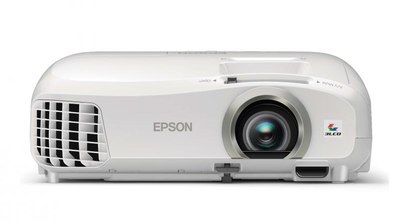 The projector supports both full HD as well as 3D projection.