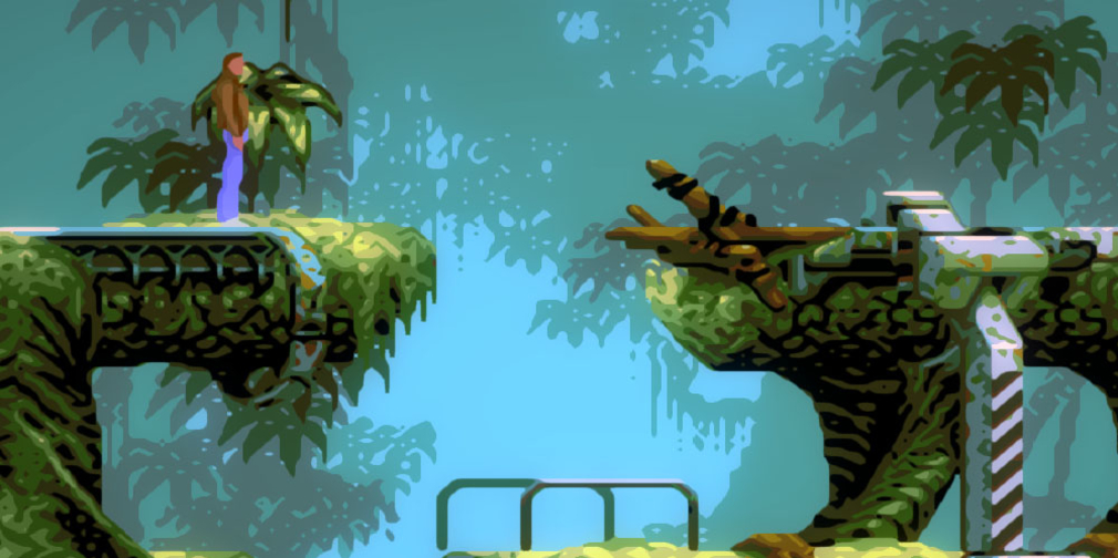 Flashback, the 1992 rotoscope, cinematic platformer, is available now on iOS and Android