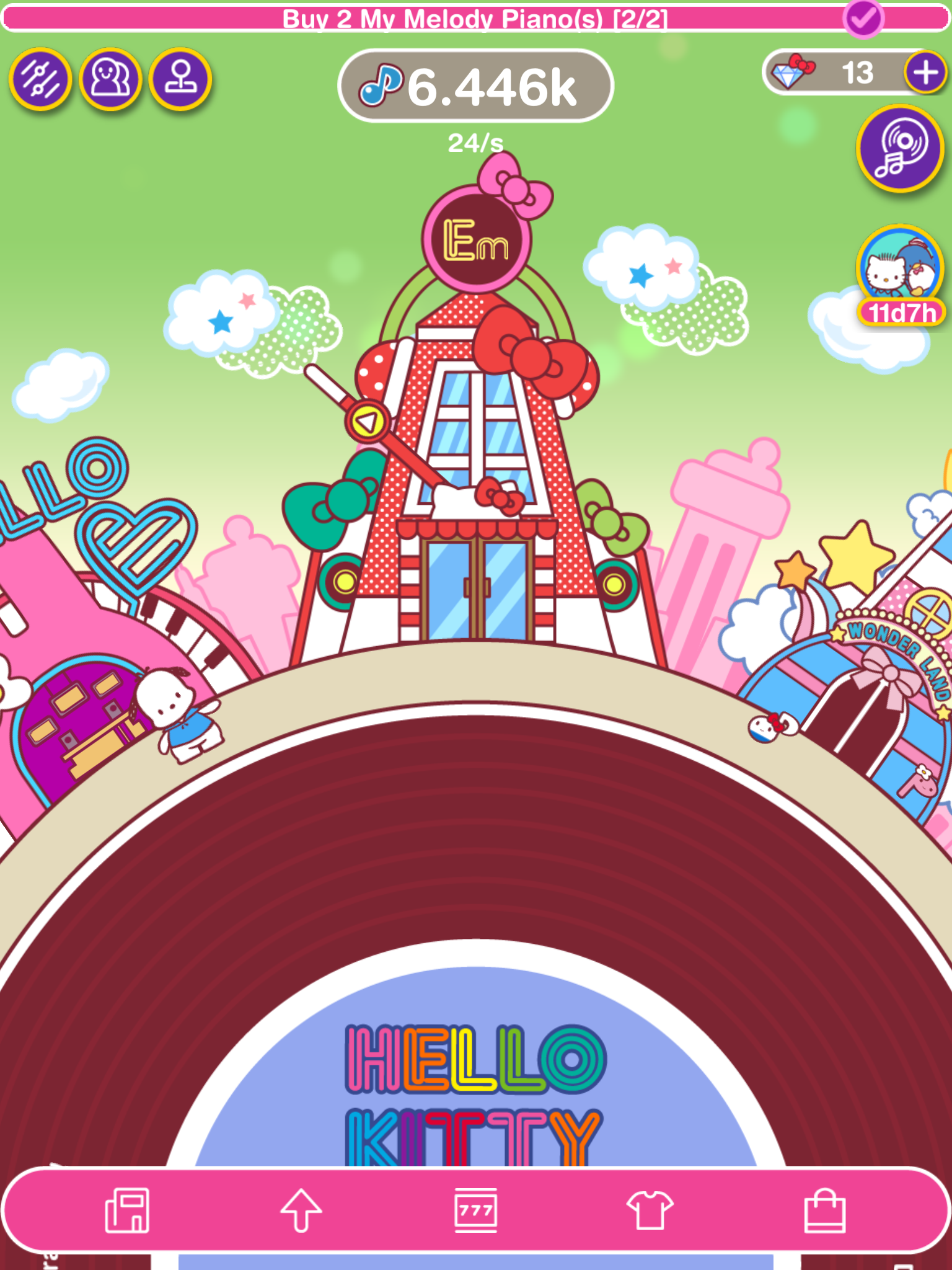Hello Kitty Music Party review - An uninspired rhythm-based idle clicker
