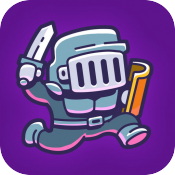 Hoppenhelm review - An endless runner with the spirit of Nitrome