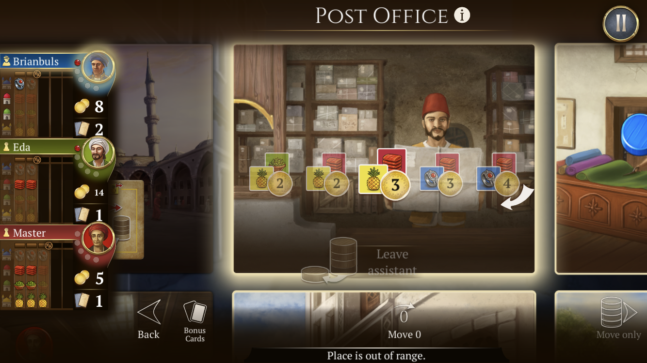 Istanbul: Digital Edition review - A trading game that definitely knows its market