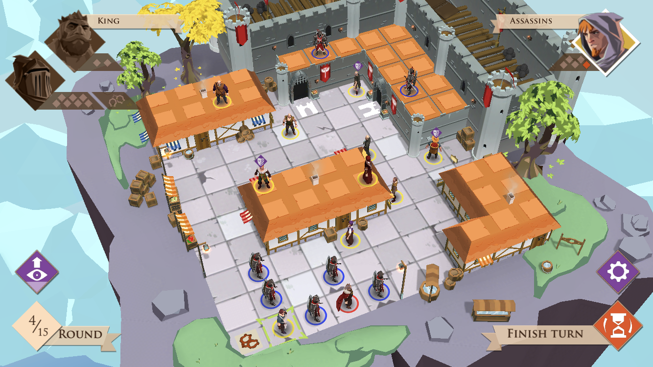 Kings and Assassins review - The perfect multiplayer board game experience?
