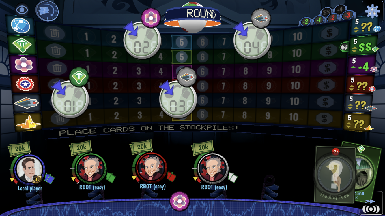 Stockpile review -