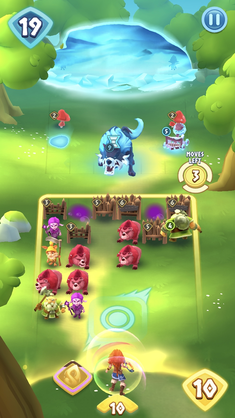 Playing Legend of Solgard - another example of match-3 domination