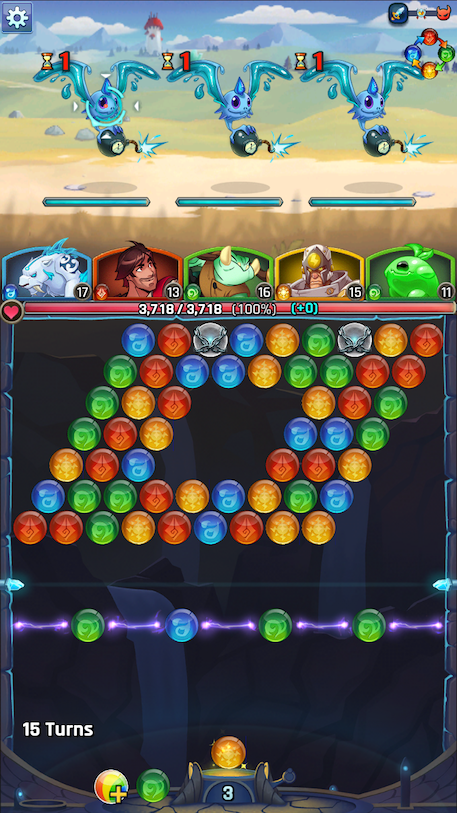 Lightslinger Heroes review - A puzzling RPG that shakes things up, but not that much