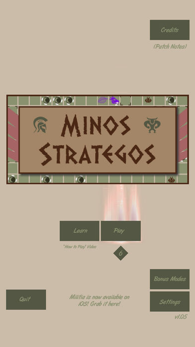 Minos Strategos review - A complex hybrid of card game, puzzler, and tactical roguelike