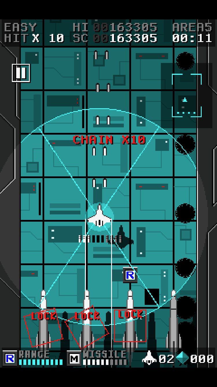 Missiler Dancer review - A shooter that throws some new steps into a familiar jig