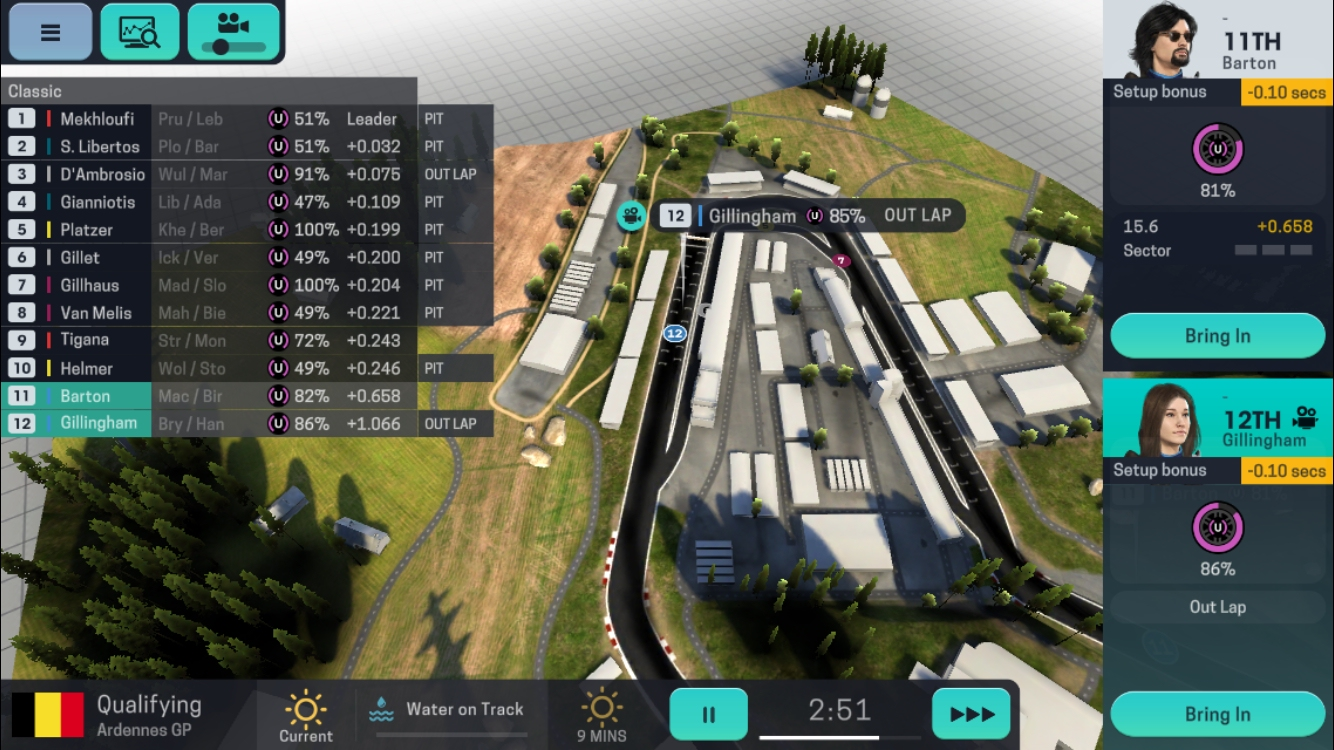Motorsport Manager Mobile 3 review - A management sim that takes pole position