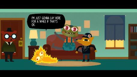 Night in the Woods Switch review - A strong, narrative adventure that sticks with you until the end