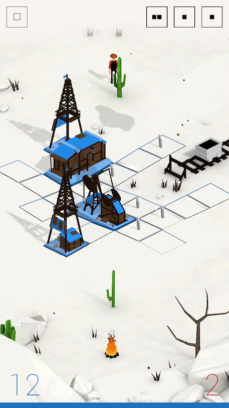Oil review - A simple digital board game that
