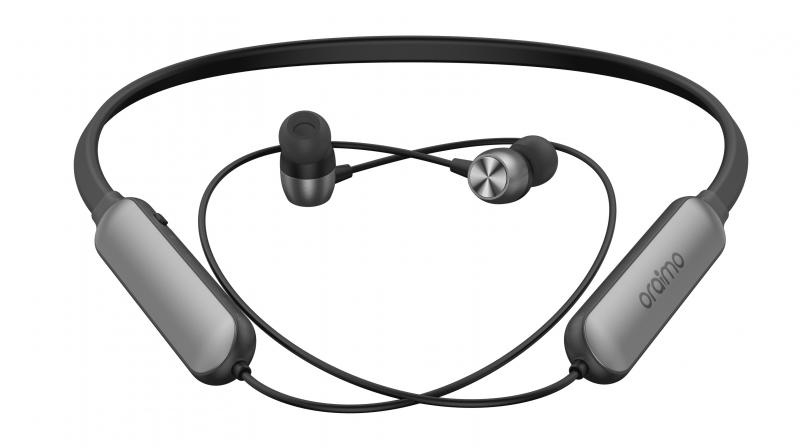 The Oraimo Necklace Bluetooth headphones are available for a price of Rs 2,799.