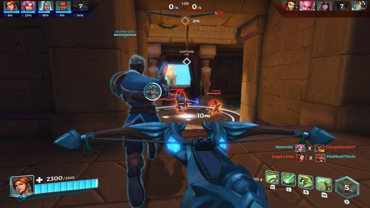 Paladins Switch review - A fun hero shooter / MOBA that lacks a strong identity