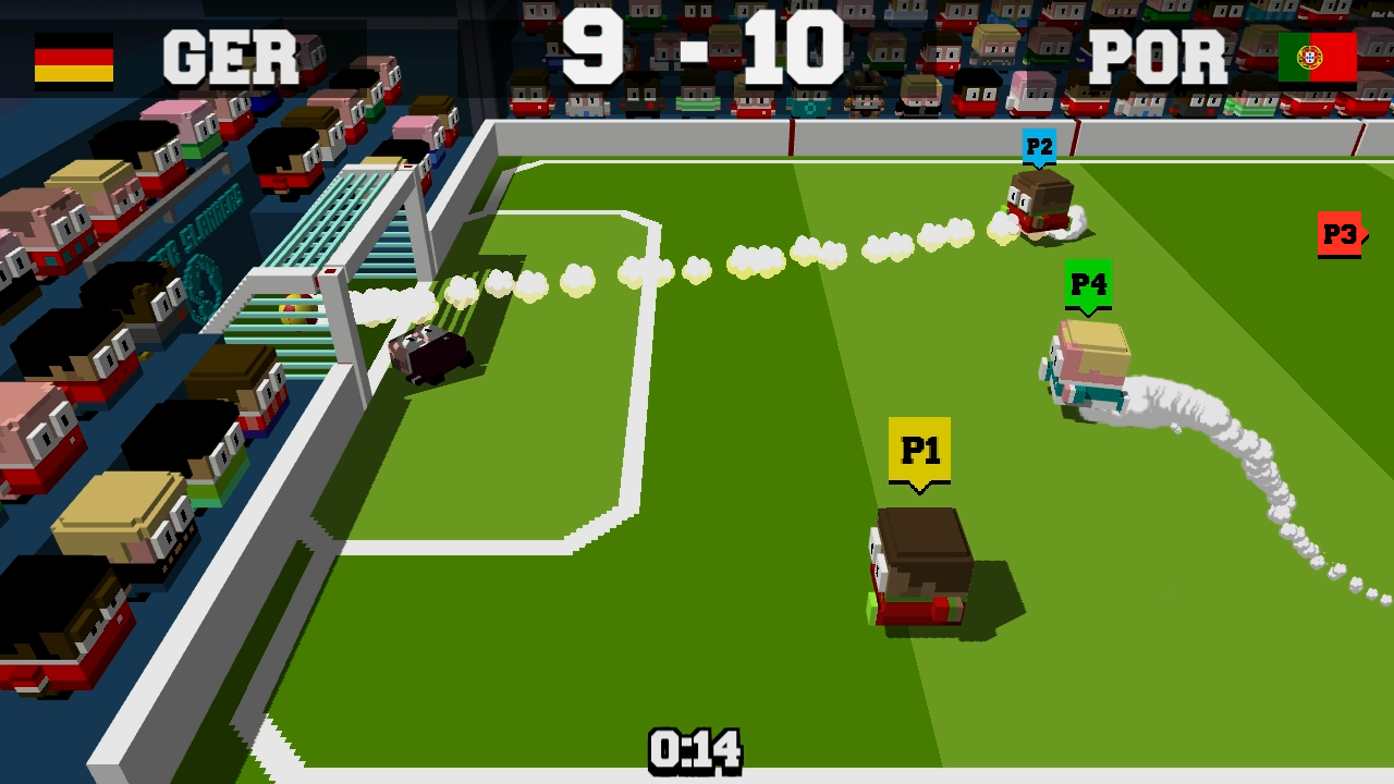 Soccer Slammers Switch review - A football game that