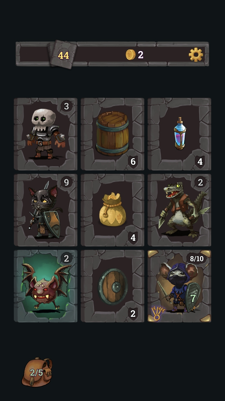 Look, Your Loot! review - A great card crawler with a mousey twist