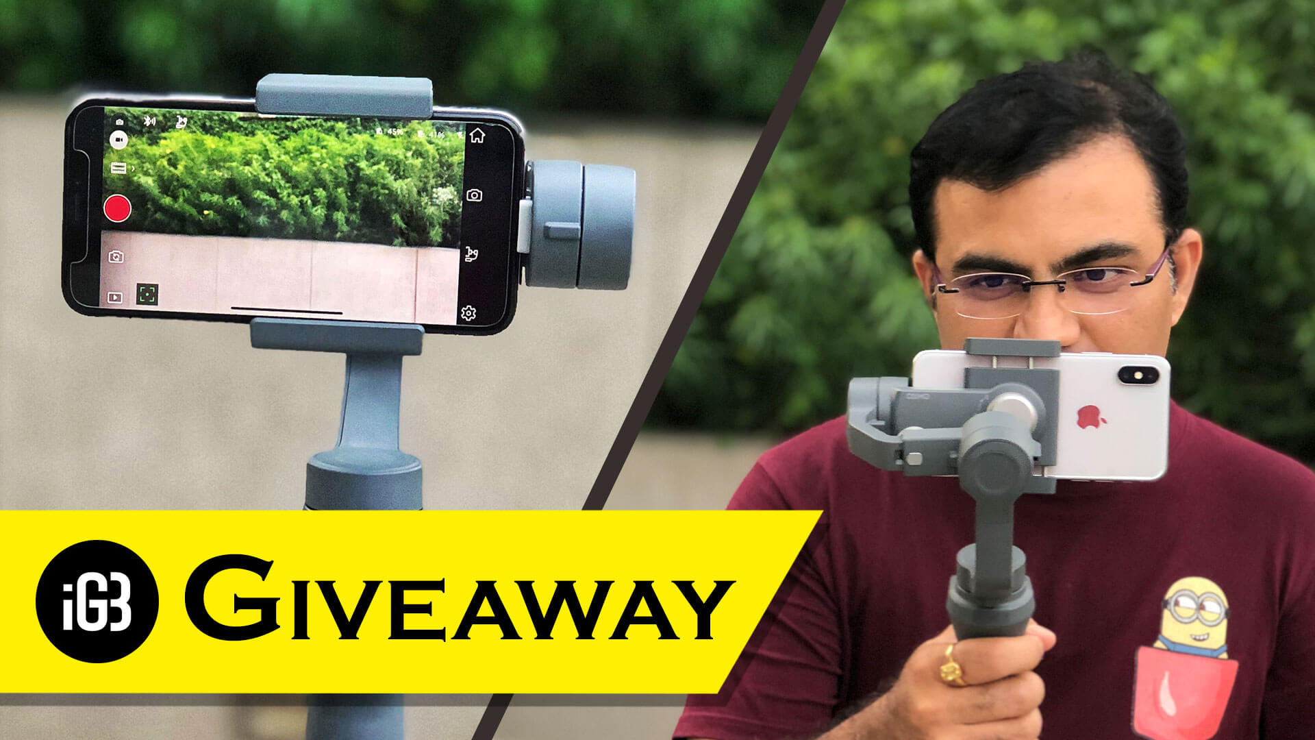 [Update: Winner Announced] iGeeksBlog Giveaway: Win DJI Osmo Mobile 2 Handheld Smartphone Gimbal