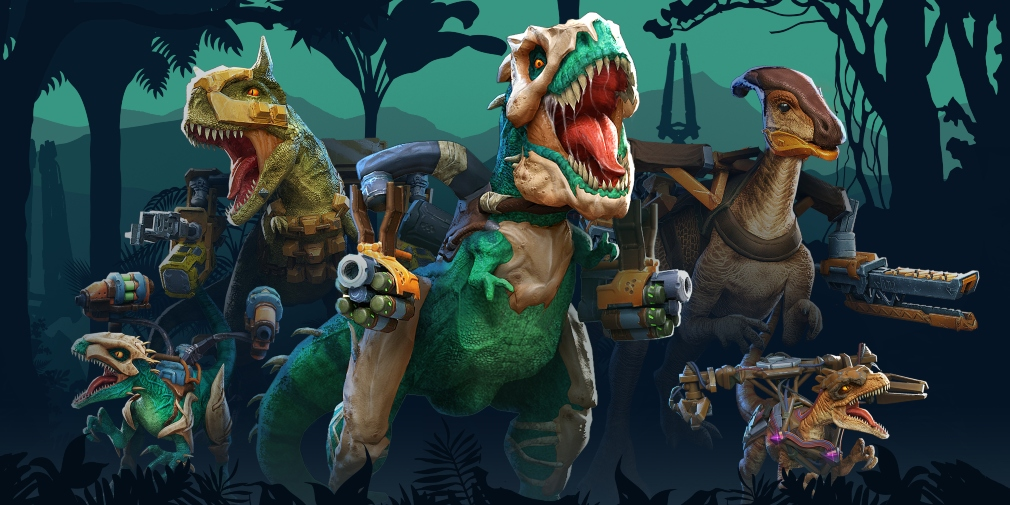 Dino Squad is an upcoming 6v6 multiplayer shooter for iOS and Android where you