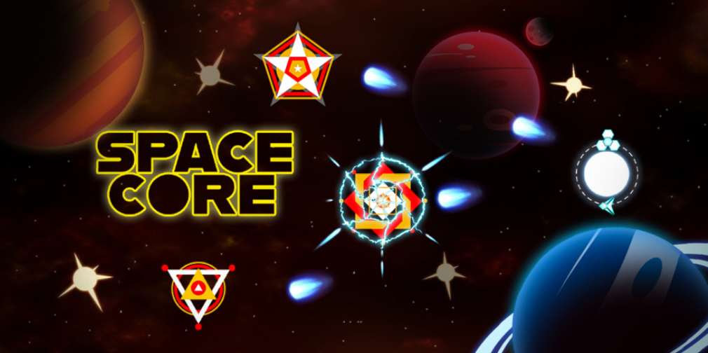 Space Core: Galaxy Shooting is a fast-paced, chaotic shooter now in early access for Android