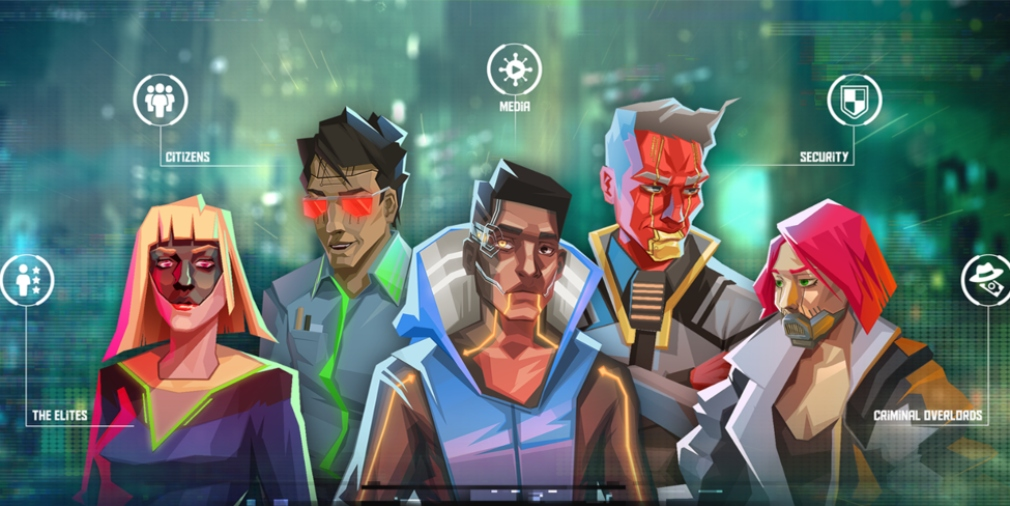 InfiniteCorp, a card-based cyberpunk adventure, is available now for iOS and Android