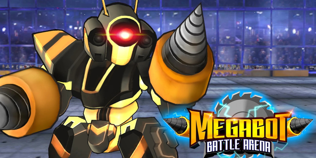 Megabot Battle Arena is a fast-paced action game for Android that lets you create unique robot fighters