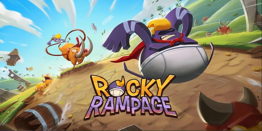 Rocky Rampage: Wreck