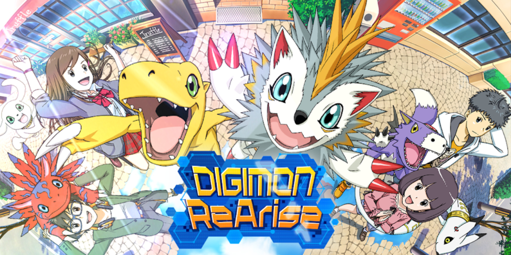 Digimon ReArise is now available worldwide for iOS and Android