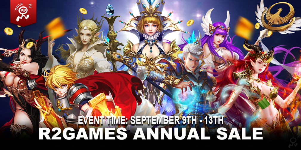 R2 Games launches its first major event in several years with a massive sale on 11 major titles