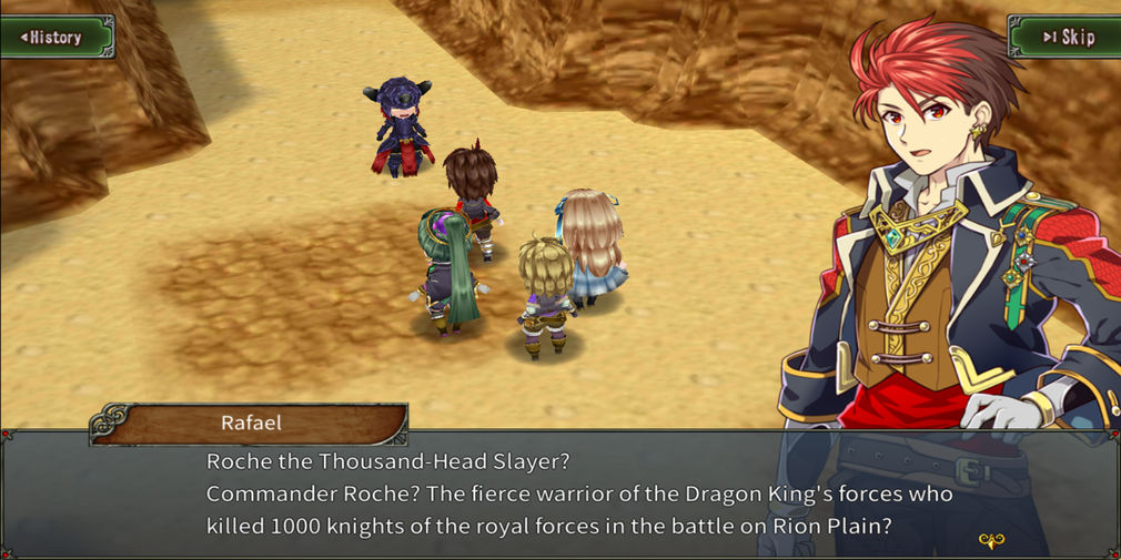 Ambition Record is a turn-based RPG from Kemco games and you can pre-register now