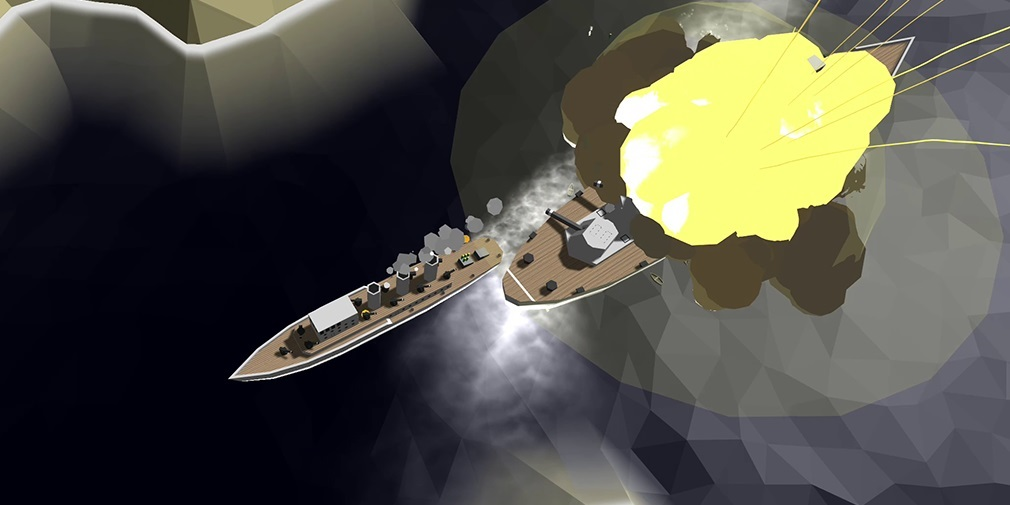 Ships of Glory is an explosive naval combat sim with an MMO twist